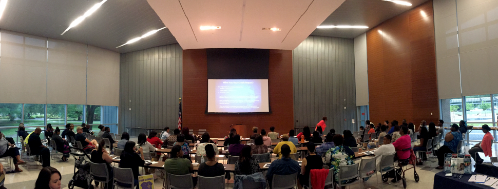 Baton Rouge Community Financial Literacy Workshop Panorama