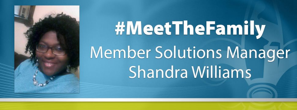 Shandra Williams Member Solutions Manager