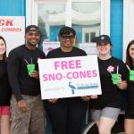 Sno-Shack Takeover in Alexandria, Louisiana