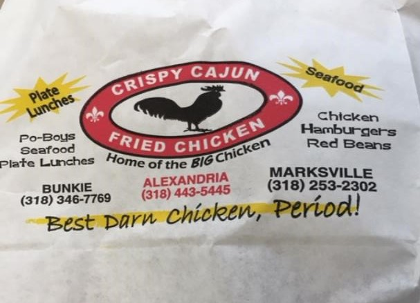 Crispy Cajun Chicken - Alexandria Louisiana