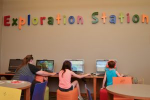 Exploration Station at Livingston Parish Library