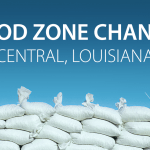Flood Zone Changes in the City of Central, Louisiana