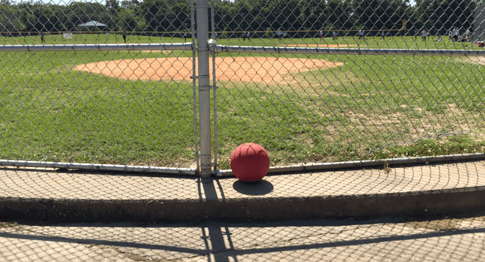 Adult Kickball Game in Baton Rouge, Louisiana