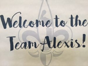 Welcome to the Team Alexis