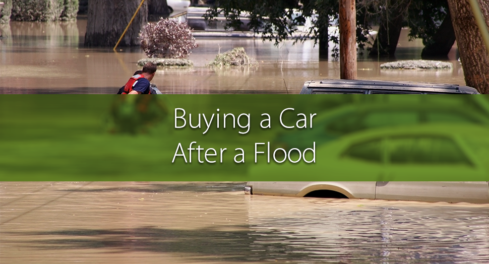 Buying a car after a flood