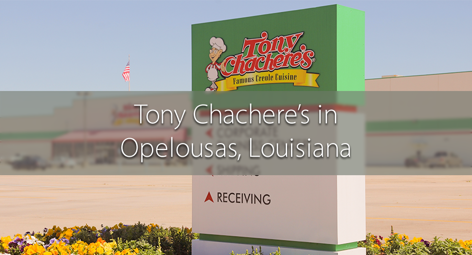 Tony Chachere's facility in Opelousas, Louisiana