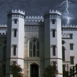 Haunted Old State Capitol building in Baton Rouge, Louisiana - Real Haunted Places in Louisiana