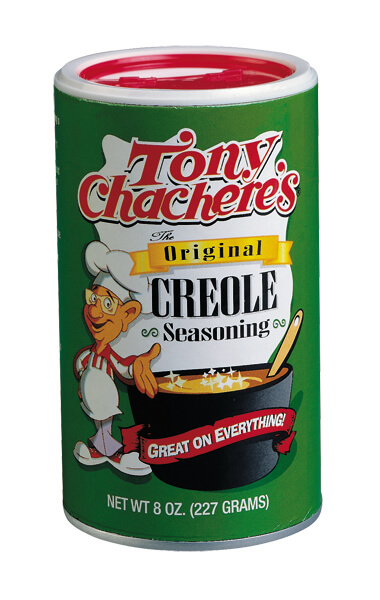 Tony Chachere's Creole Seasoning can