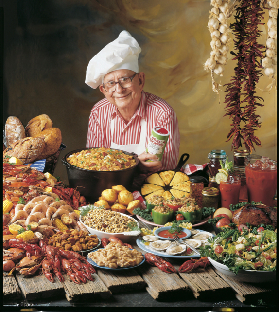 Tony Chachere Cookbook Cover