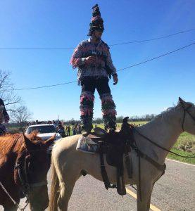 Courir de Mardi Gras Horseback Rider