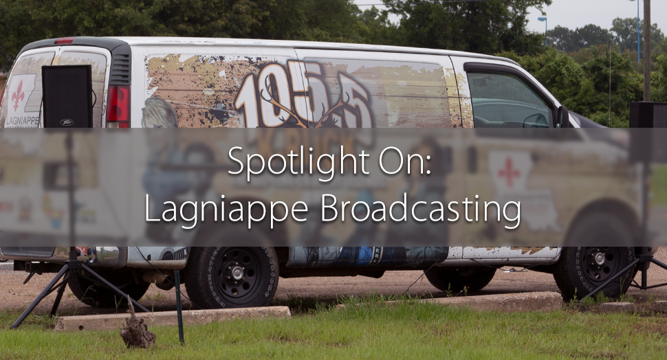 Lagniappe Broadcasting in Alexandria Louisiana