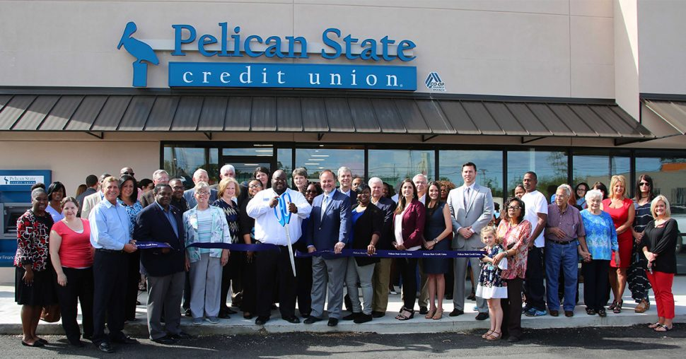 Pelican State Credit Union in Monroe Louisiana Grand Opening