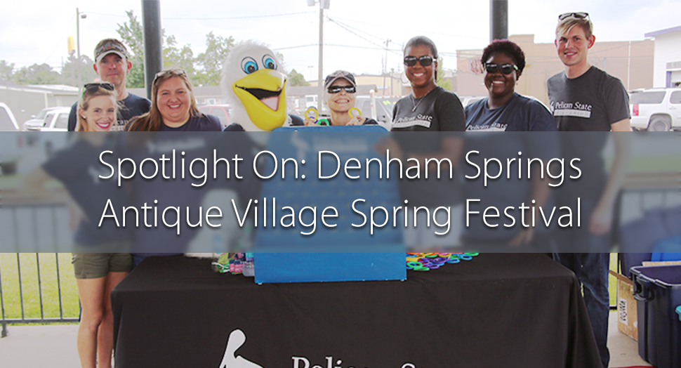 Denham Springs Antique Village Spring Festival