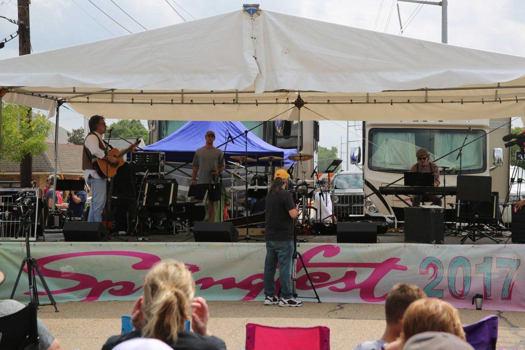 Denham Springs Spring Fest Band 2017