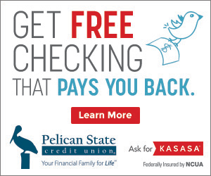 FREE Kasasa Checking Account with Pelican