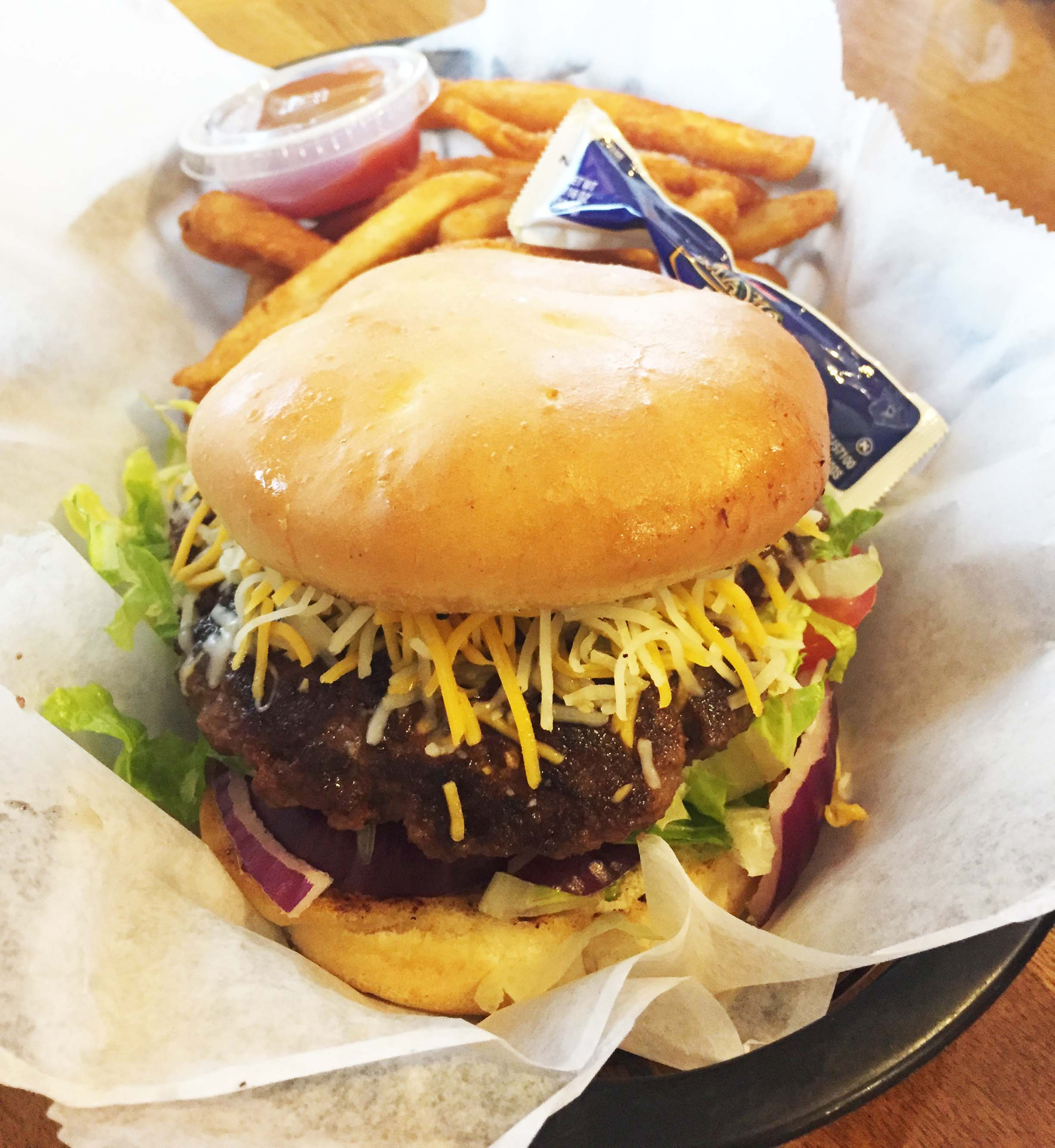 Cheeseburger - Taste of Louisiana Cafe Denham Springs