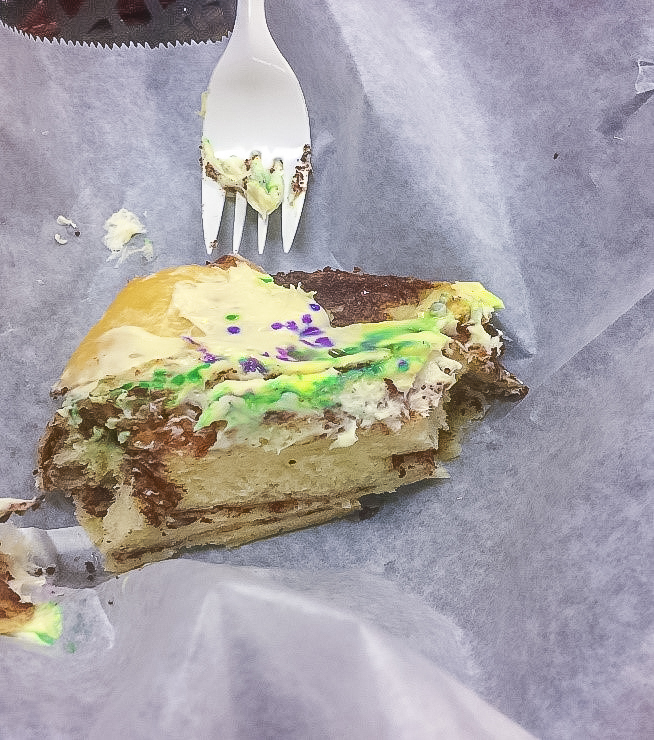 Daily Harvest Deli & Bakery Monroe Louisiana King Cake