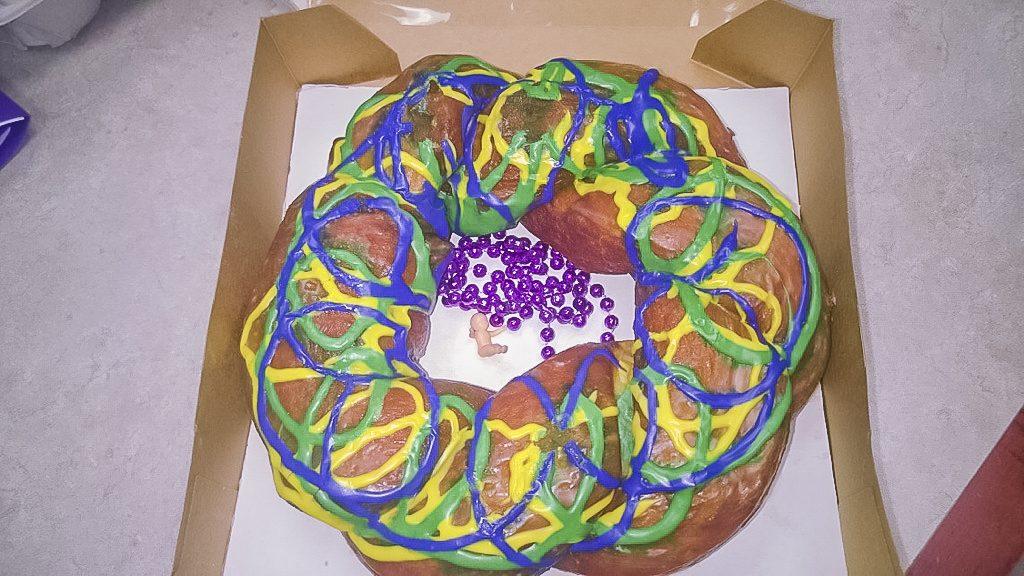 Miler's Donut King Opelousas King Cake