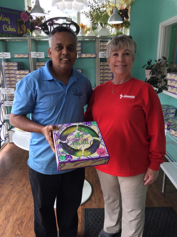 Shreveport - Lilah's Bakery King Cake - Heike Regan (6)