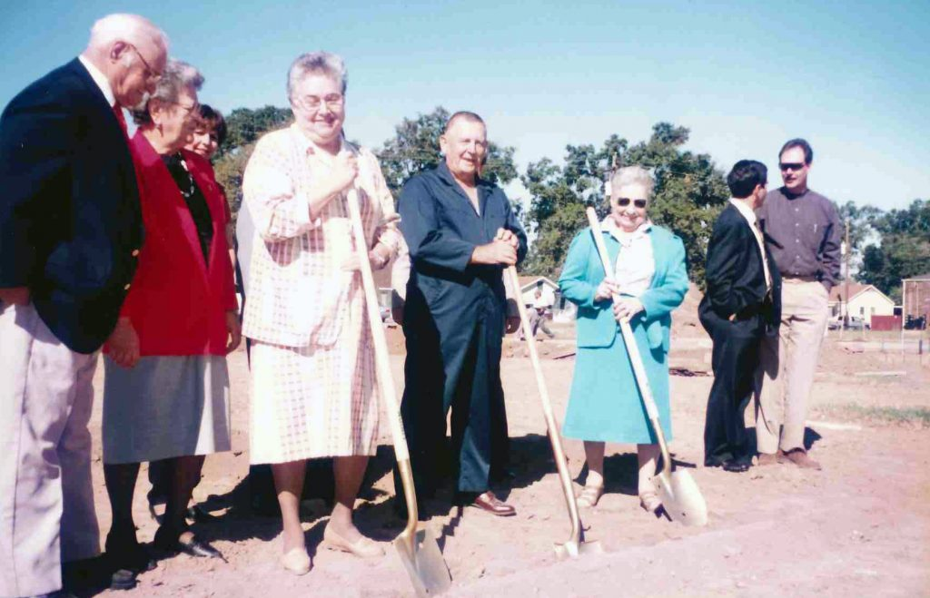 Groundbreaking at the St. Jules Branch