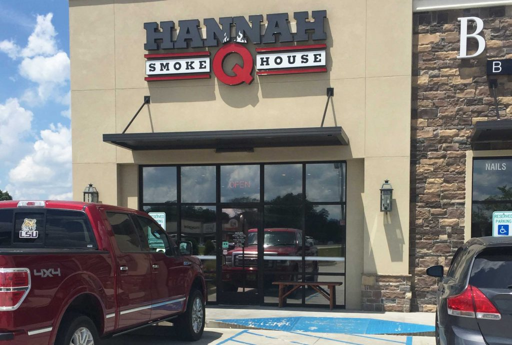 Hannah Q Smokehouse in Prairieville, Louisiana