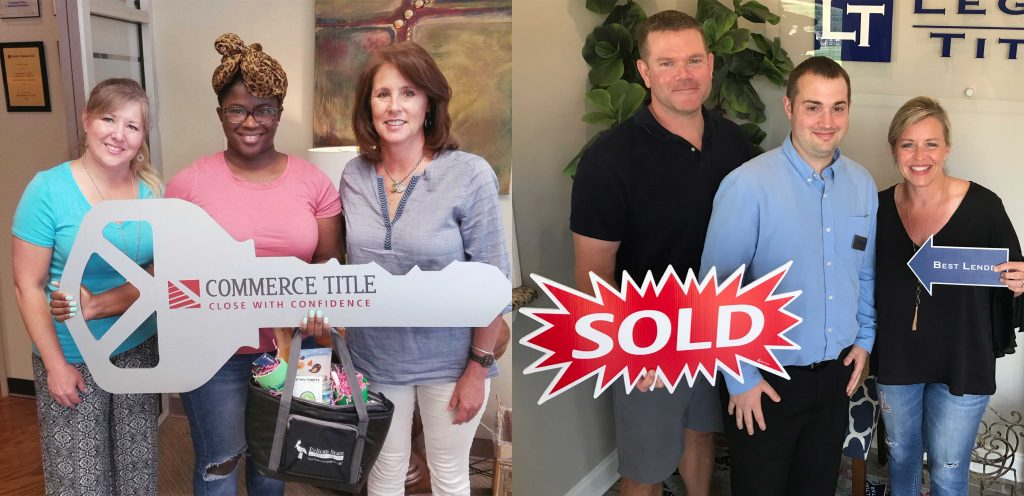 Jennifer McMinn-Griffin and Chris Neal, Mortgage Originators with sold houses