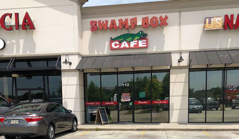 Swamp Box Cafe in Denham Springs, Louisiana