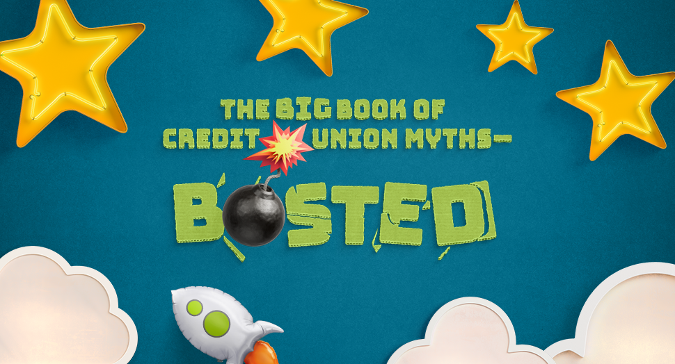 Credit Union Myths Busted eBook Cover