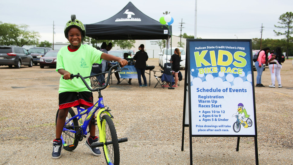 Pelican's Monroe Free Kids Bike Race